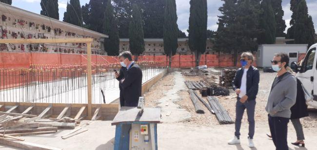 cimitero comunale barletta, avviata la costruzione di 900 loculi e di 240 nuovi ossari