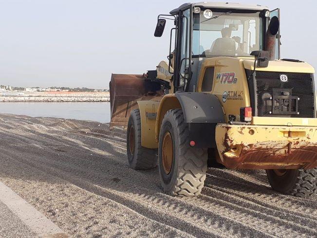 proseguono gli interventi di manutenzione straordinaria sul waterfront di fesca san girolamo