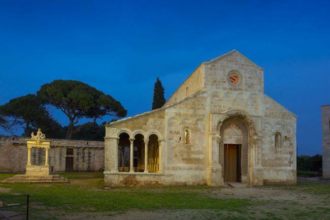 abbazia di santa maria di cerrate, lecce foto dario fusaro 2019 (C) fai - fondo ambiente italiano