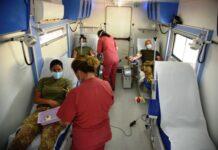 donazione presso il reggimento logistico pinerolo