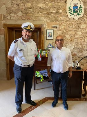 il dottor antonio ciracì nuovo comandante della polizia municipale di villa castelli