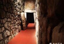 la ricostruzione della tomba di poggio pelliccia al marta di taranto