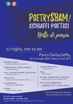 locandina poetry sbam