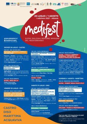 medifest - locandina programma