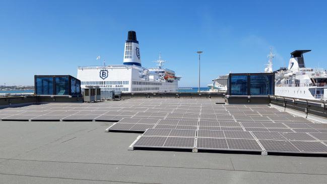 porto di bari fotovoltaico