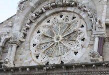 troia il rosone della cattedrale