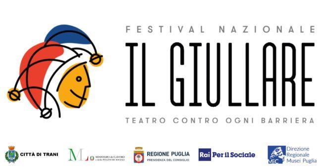 banner festival nazionale il giullare teatro contro ogni barriera 2021