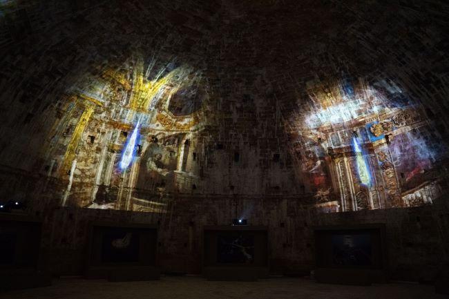 castello di gallipoli - un mare di storie. un viaggio experience - render sala ennagonale