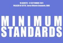 locandina festa del mare 2021 - mostra minimun standards