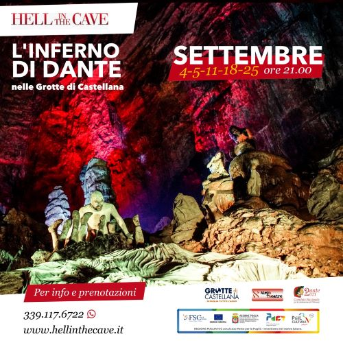 locandina hell in the cave settembre