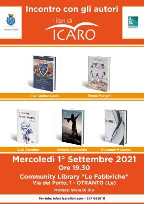 locandina incontro con gli autori 1 settembre