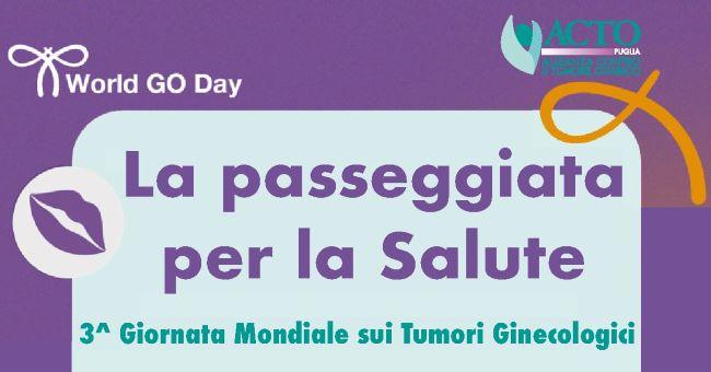 banner giornata mondiale dei tumori ginecologici 2021 acto puglia