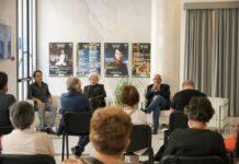 conferenza stampa - da sinistra, lorenzo mattei, fabiano marti e paolo ruta