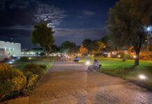 giardini castello (nuova illuminazione)
