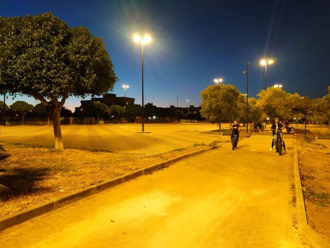 giardino de ribera al san paolo, entrato in funzione il nuovo impianto di pubblica illuminazione