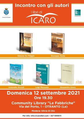 locandin iIncontro con gli autori 12 settembre