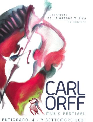 locandina putignano carl orff music festival 2021