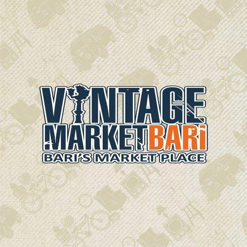 logo III edizione di vintage market bari al palamartino
