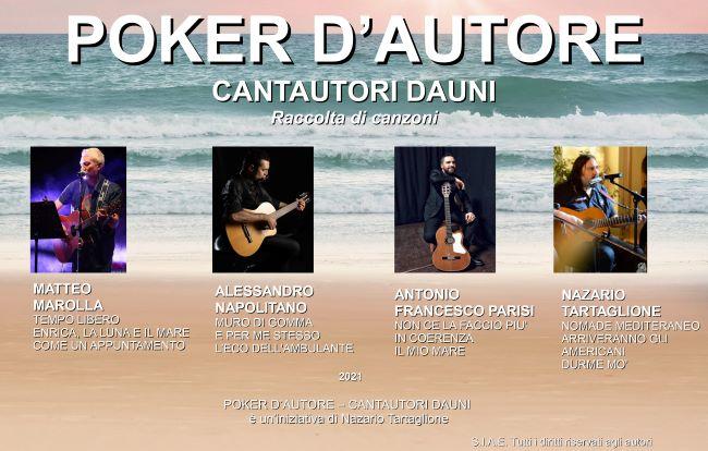 poker d'autore - cantautori dauni