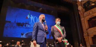 celebrazioni per il centenario del milite ignoto - cerimonia teatro petruzzelli